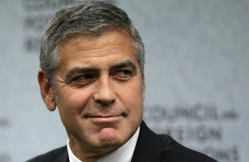 George Clooney (photo credit: REUTERS)