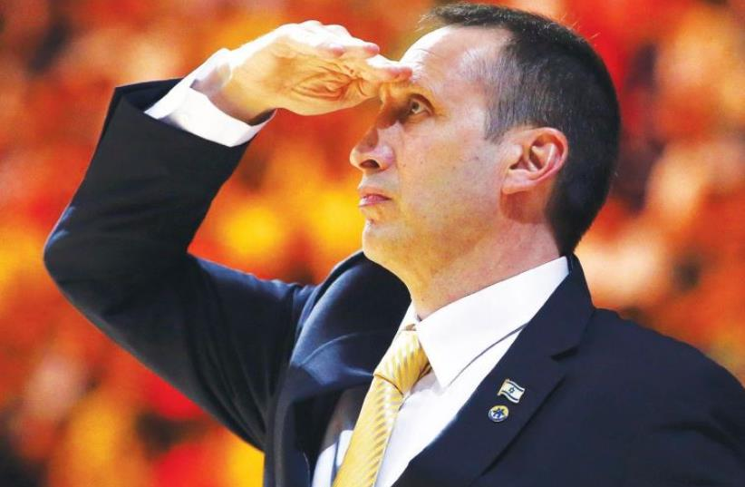David Blatt is still licking his wounds after being fired by the Cleveland Cavaliers last week, but his next job in the NBA could be just beyond the horizon. (photo credit: REUTERS)