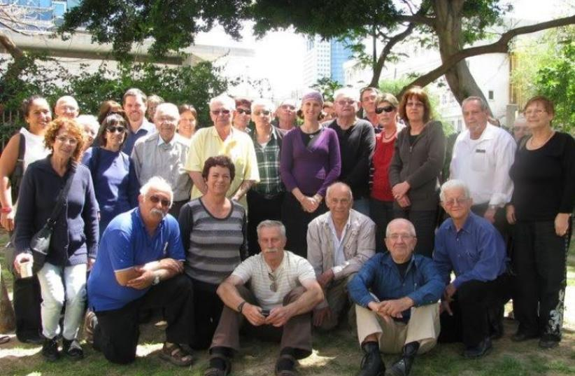 Holocaust survivors who have been helped by Aviv Lenitzolei Hashoah (photo credit: BENI LAPID)
