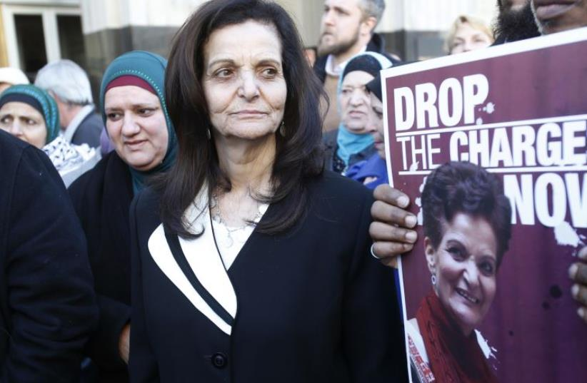 Palestinian activist Rasmieh Yousef Odeh  (photo credit: REUTERS)