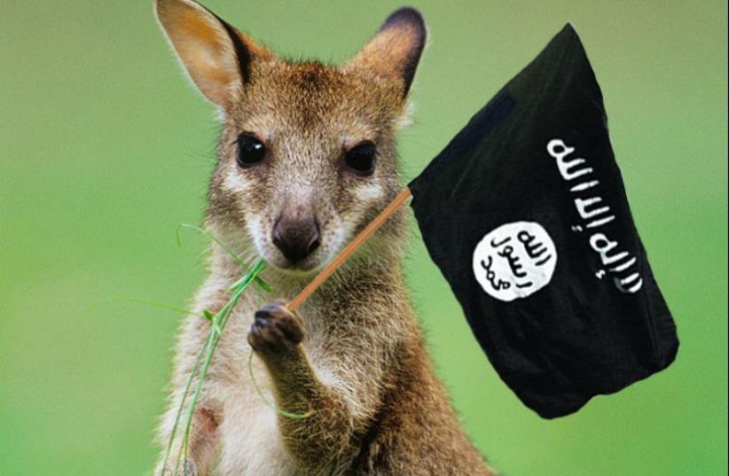 ISIS kangaroo (photo credit: INGIMAGE)