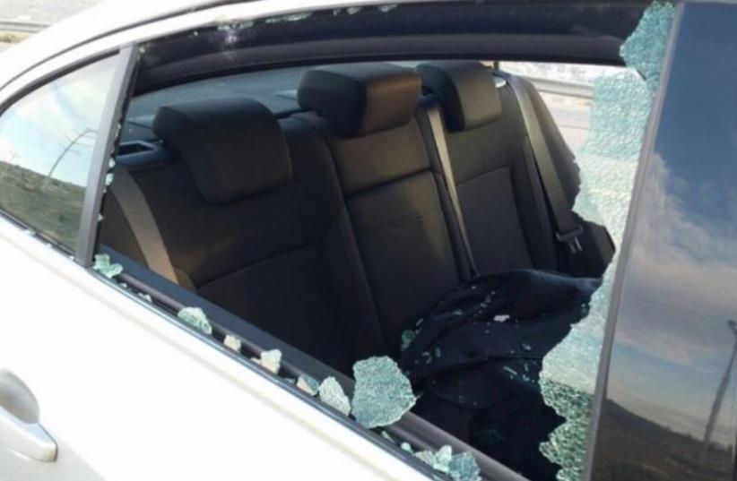 MK Haim Yalin's car (photo credit: YESH ATID)