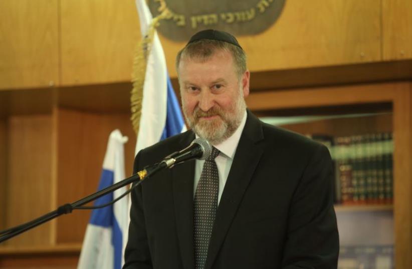 Avichai Mandelblit (photo credit: MARC ISRAEL SELLEM/THE JERUSALEM POST)