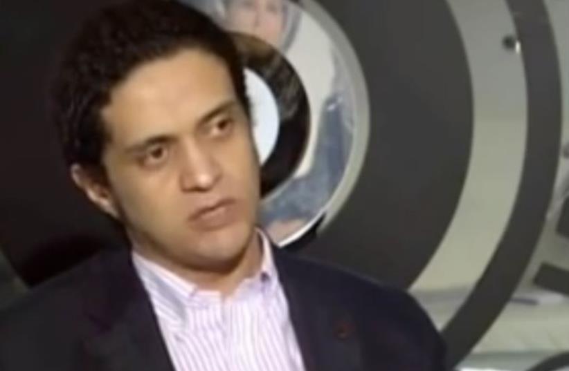 Ashraf Fayadh  (photo credit: screenshot)