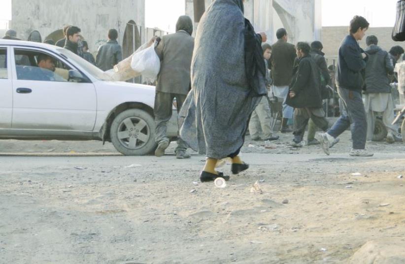 Kabul, Afghanistan (photo credit: TAMARA BARAAZ)