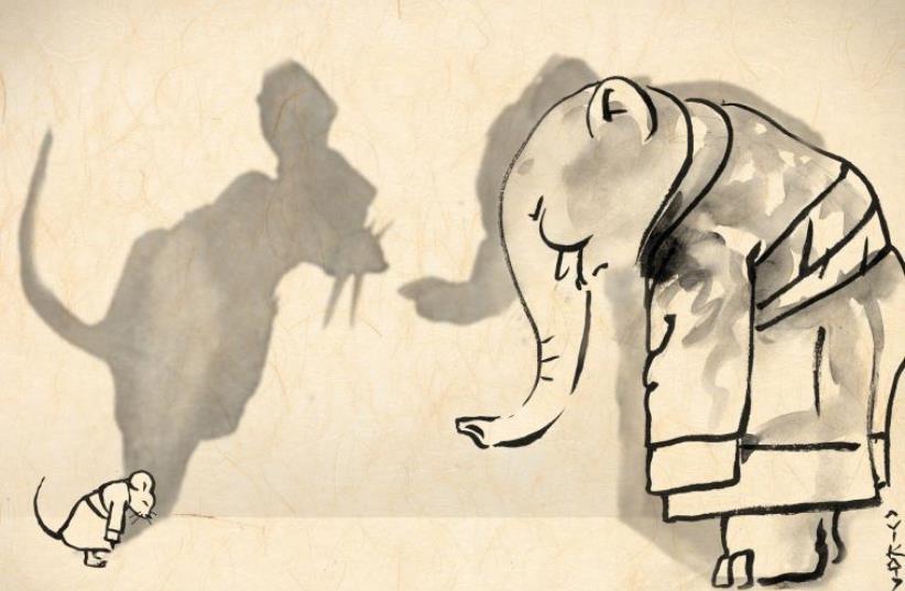 Illustration by Avi Katz (photo credit: AVI KATZ)
