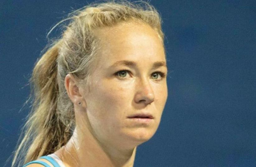 Israel's No. 1 women's tennis player, Julia Glushko (photo credit: NIR KEIDAR/ISRAEL TENNIS ASSOCIATION)