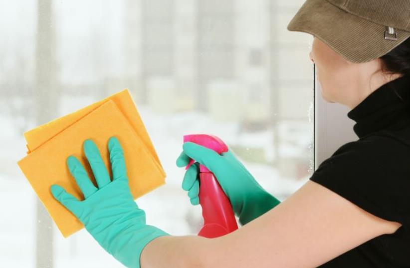 Cleaning [Illustrative] (photo credit: INGIMAGE)