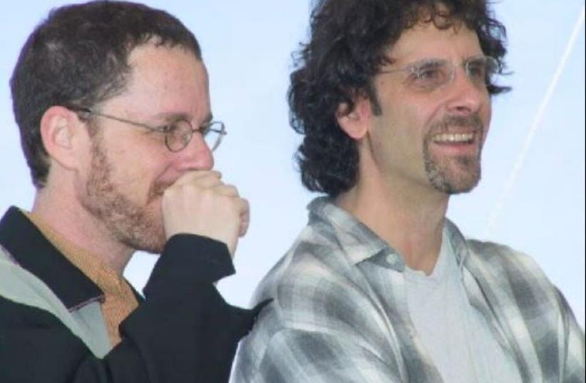 Coen Brothers at Cannes in 2001. (photo credit: RITA MOLNÁR)
