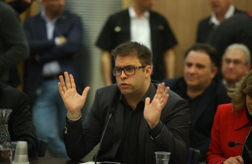 MK Oren Hazan (photo credit: MARC ISRAEL SELLEM/THE JERUSALEM POST)