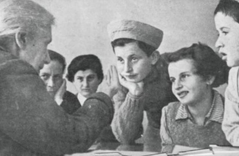 HENRIETTA SZOLD chats with Children of Tehran (photo credit: Courtesy)