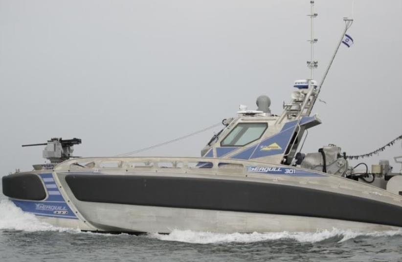The Seagull USV (photo credit: ELBIT SYSTEMS)