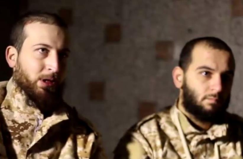 Hezbollah captives in Syria attack the organization's involvement in the Syrian civil war (photo credit: screenshot)
