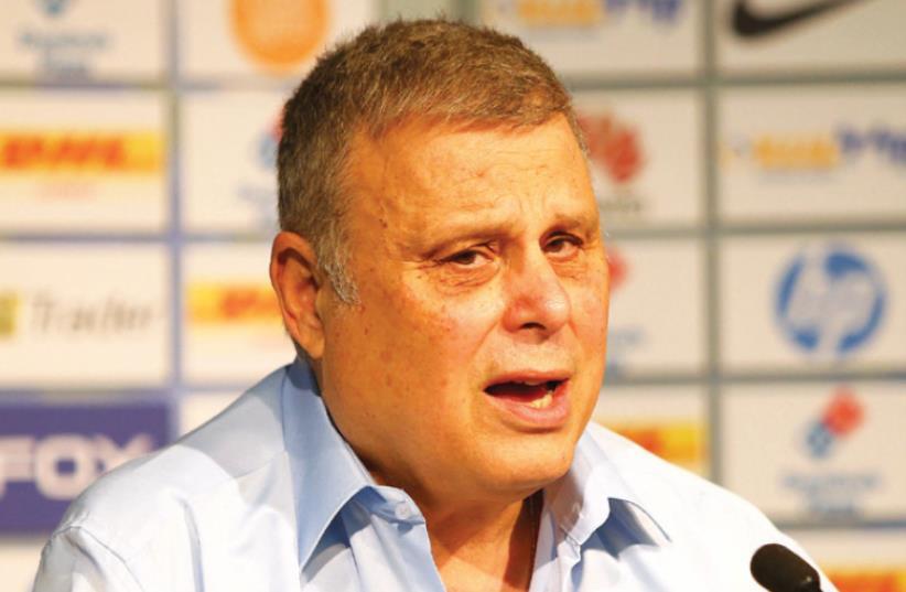 Maccabi Tel Aviv HOOPS co-owner David Federman (photo credit: UDI ZITIAT)