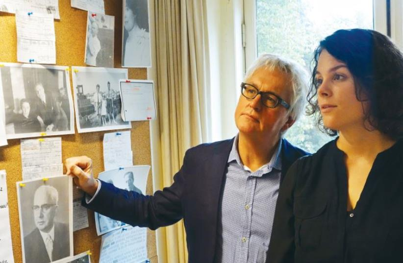 Prof. Wim Willems and historian Hanneke Verbeek's cooperation produced a book on interbellum Dutch Jews (photo credit: Courtesy)