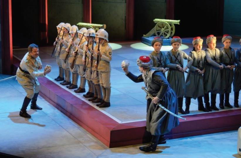 The Estonian National Opera Boys' Choir. (photo credit: YACHATZ)