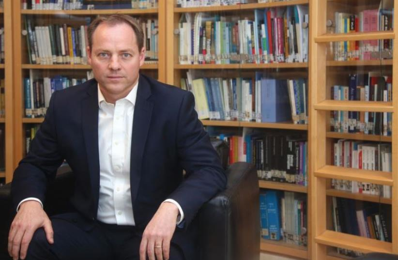 YOHANAN PLESNER: The IDI is a think and do tank. (photo credit: MARC ISRAEL SELLEM/THE JERUSALEM POST)