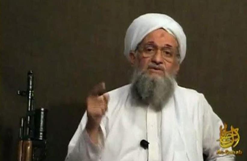 Ayman al-Zawahri  (photo credit: REUTERS)