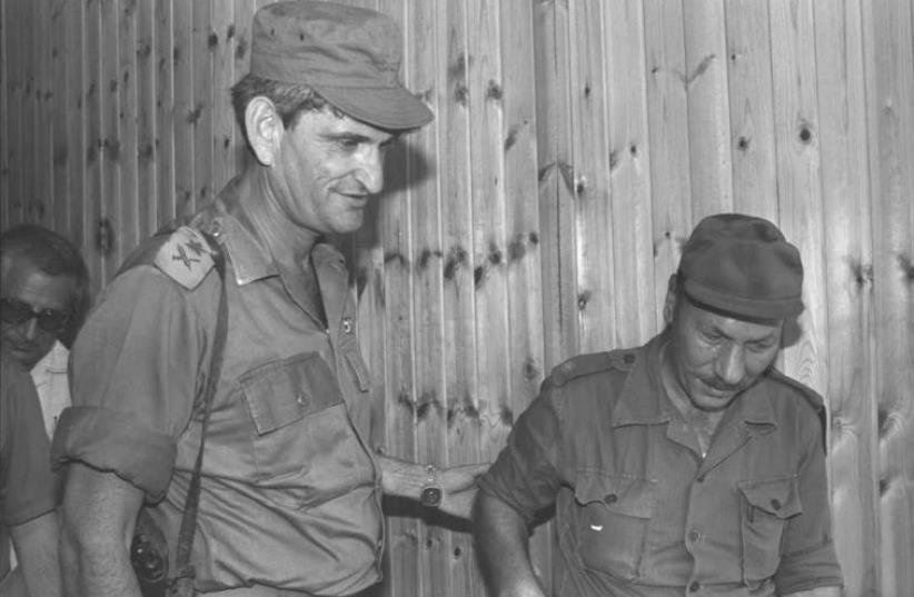 """War hero Avigdor """"Yanush"""" Ben-Gal IN 1973. (photo credit: MAARIV)"""