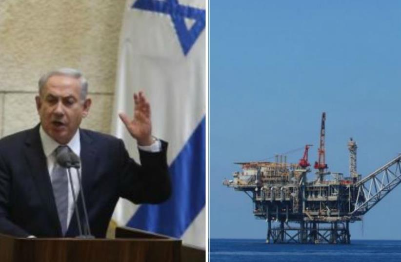 Prime Minister Benjamin Netanyahu confronts High Court to defend natural gas policy in unprecedented personal appearance. (photo credit: MARC ISRAEL SELLEM)
