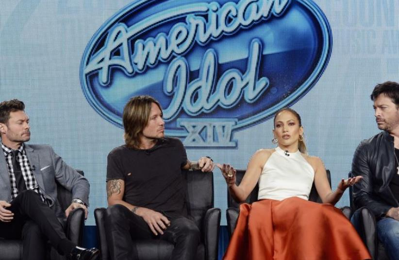 American Idol judges (photo credit: REUTERS)