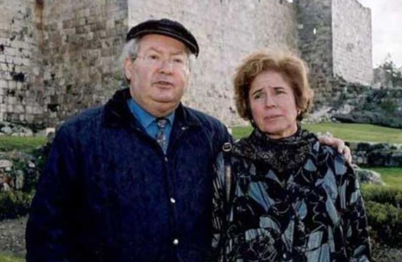 Beate Klarsfeld and her husband. (photo credit: Wikimedia Commons)
