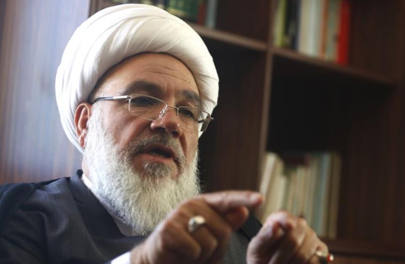 Former secretary general of Hezbollah Sheikh Subhi Tufayli (photo credit: REUTERS)