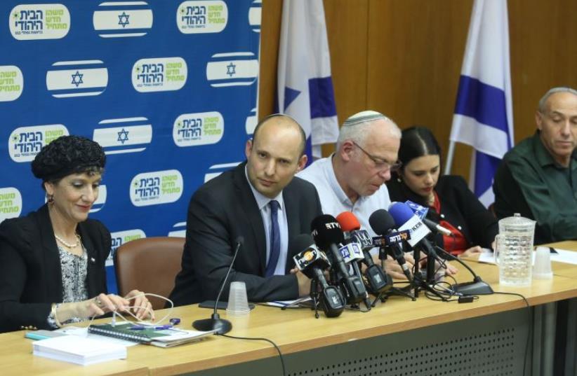 Bayit Yehudi MKs (photo credit: MARC ISRAEL SELLEM/THE JERUSALEM POST)