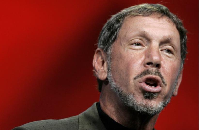 Oracle CEO Larry Ellison (photo credit: REUTERS)