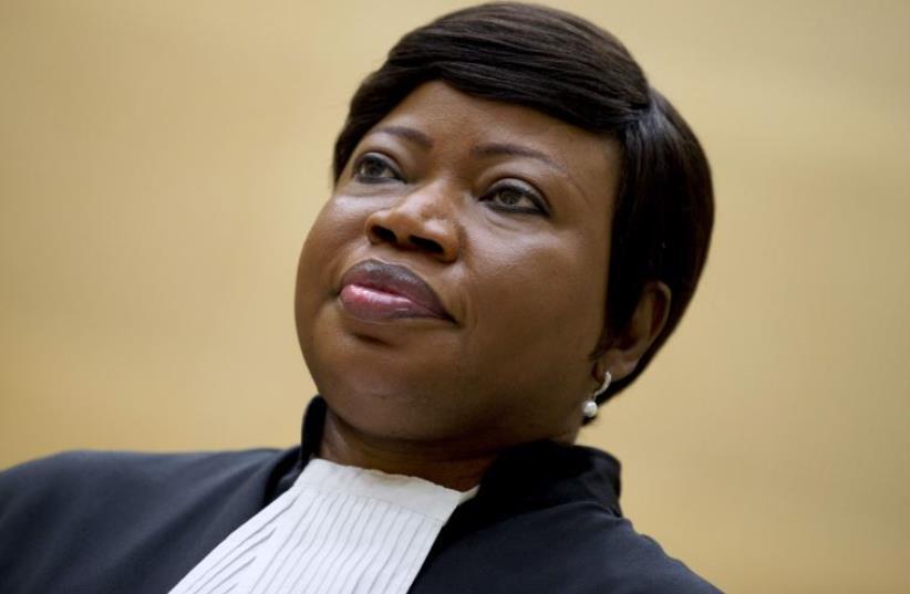 Prosecutor Fatou Bensouda (photo credit: REUTERS)