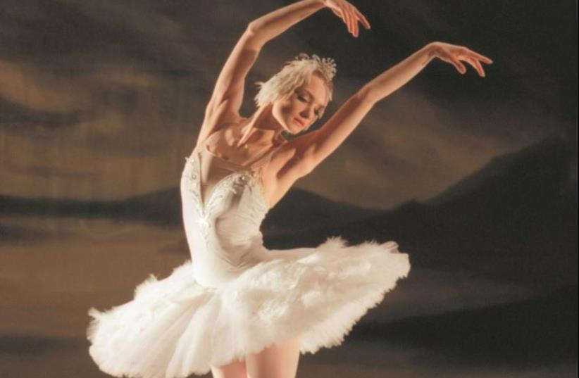 Irina Kolesnikova, in 'Swan Lake.' (photo credit: NINA ALOVERT)