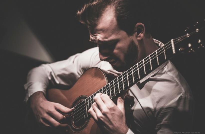Romanian guitarist Mircea Gogoncea (photo credit: ANDREY WEYERS)