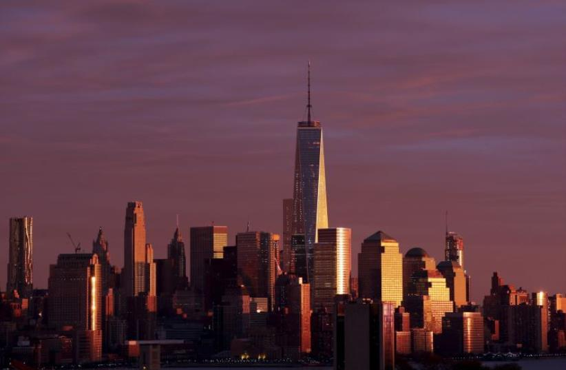 The Manhattan skyline  (photo credit: REUTERS)