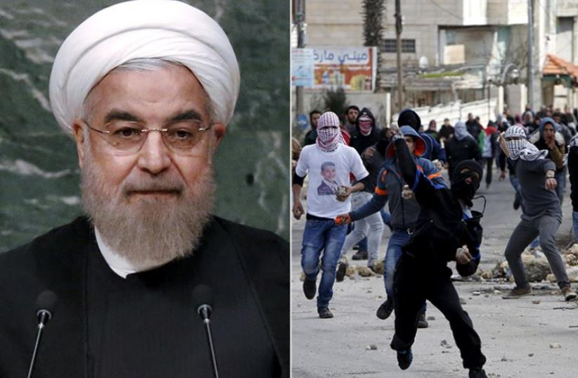 Iran's Rouhani (photo credit: REUTERS,JPOST STAFF)