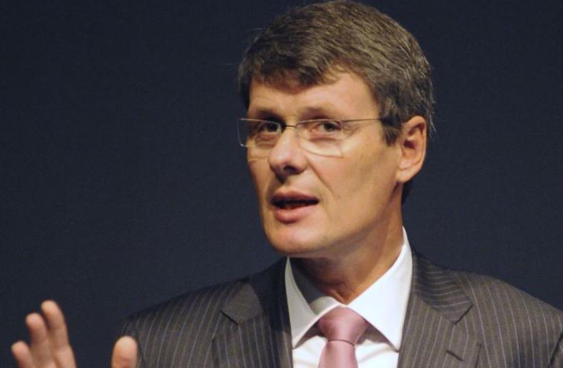 Powermat CEO Thorsten Heins (photo credit: REUTERS/JON BLACKER)