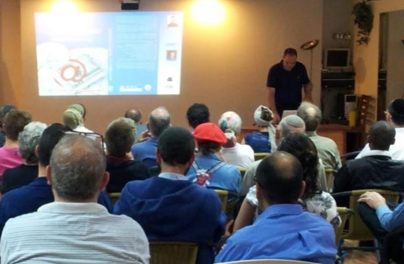 Entrepreneurs attend a seminar provided by MATI – The Jerusalem Business Development Center. (photo credit: MATI)