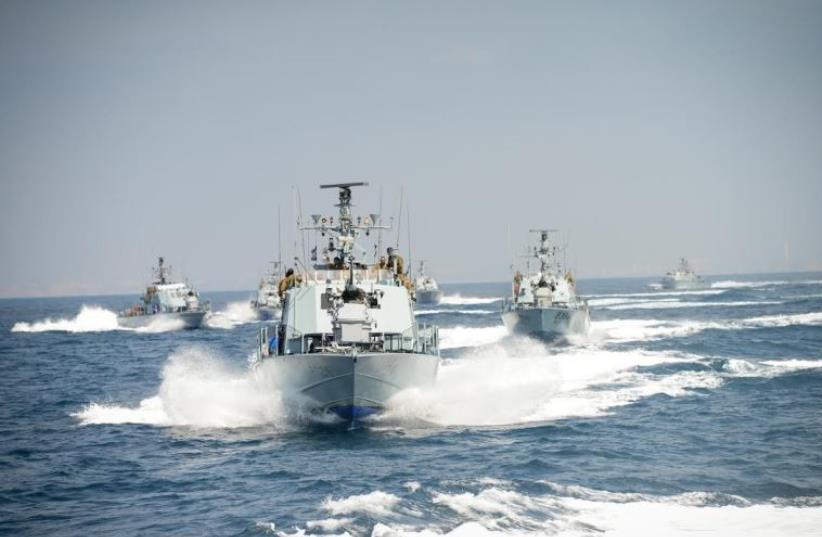 Archive photo of Navy Squadron 916 (photo credit: IDF SPOKESMAN'S UNIT)