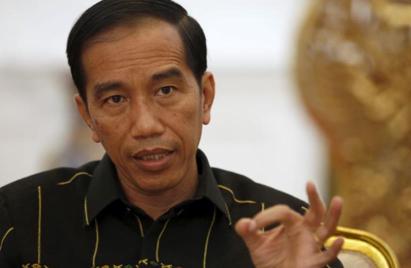 Indonesian President Joko Widodo (photo credit: REUTERS)