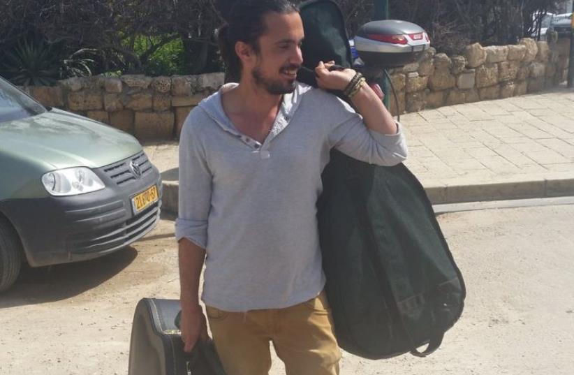 Yishay Montgomery, Israel's 'Guitar Hero' (photo credit: BEN HARTMAN)