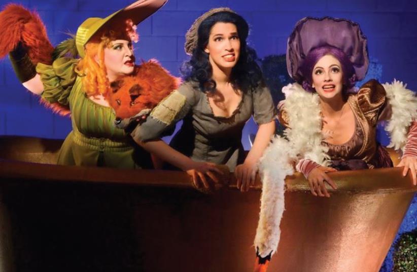 Rossini's 'La Cenerentola' (Cinderella) (photo credit: YOSSI ZWECKER)