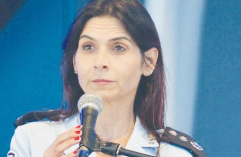 CMDR. Einat Gil Tzubari (photo credit: Courtesy)
