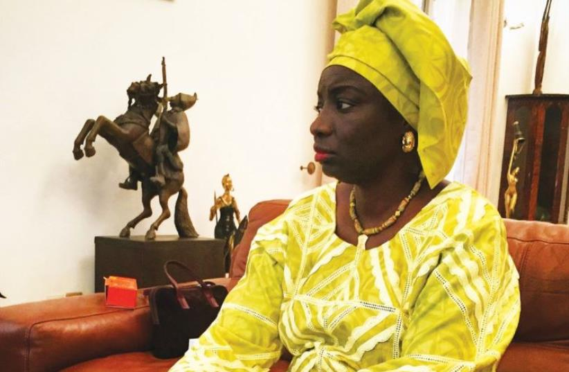 Aminata Toure (photo credit: SETH J. FRANTZMAN)