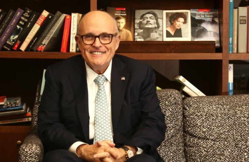 Rudolph Giuliani (photo credit: MARC ISRAEL SELLEM)