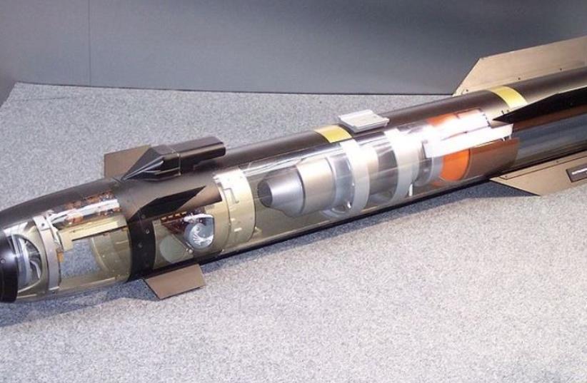 Lockheed Martin Longbow Hellfire (photo credit: Wikimedia Commons)