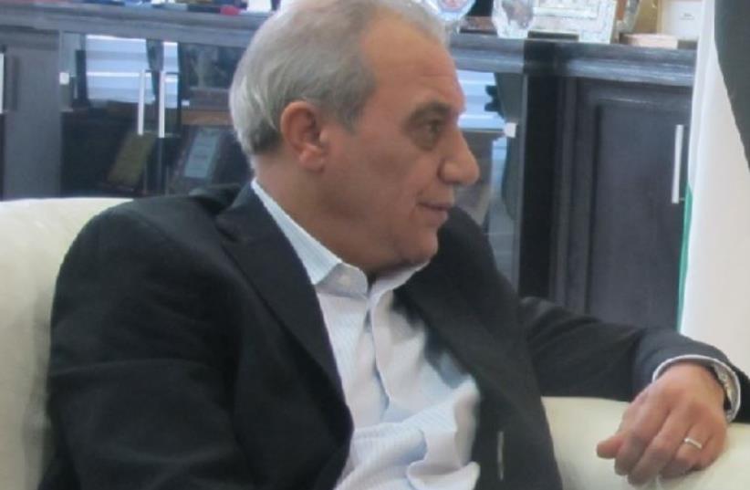 Palestinian intelligence chief (photo credit: PALESTINIAN MEDIA)