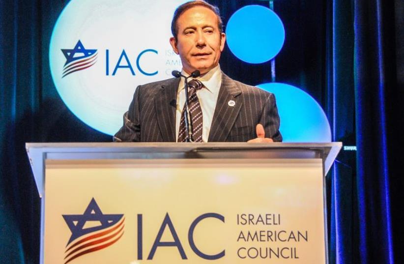 IAC National Chairman Adam Milstein at IAC L.A.'s 8th Annual Gala (photo credit: LEONATO AUGUST)