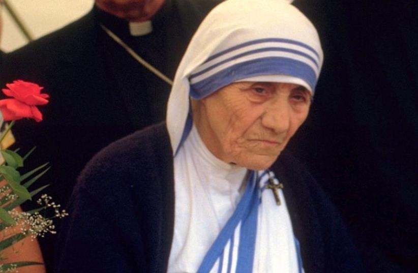 Mother Teresa (photo credit: 1986 TÚRELIO (VIA WIKIMEDIA-COMMONS))