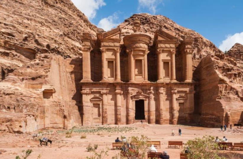 Petra Archeological Park  (photo credit: PALESTINIAN MEDIA)