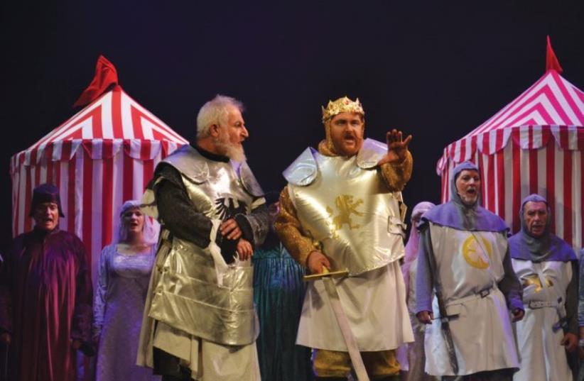LOGON'S production of 'Camelot.' (photo credit: AVITAL COHEN)