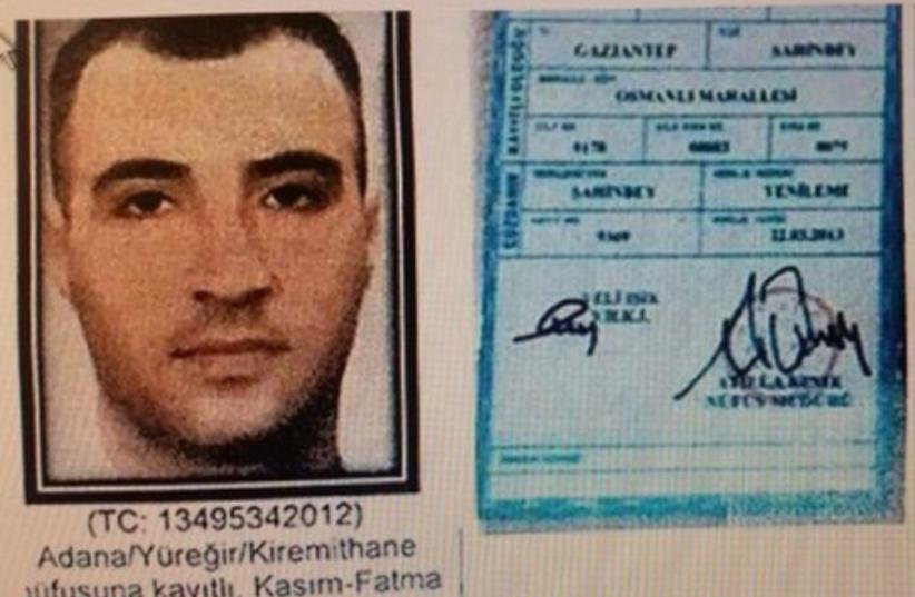 Turkish national Savas Yıldız, suspected Istanbul suicide bomber (photo credit: ARAB SOCIAL MEDIA)